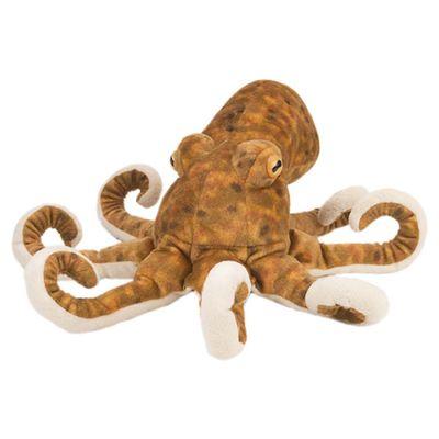 Brauner Octopus